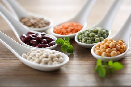 Erbsen, Bohnen und Linsen