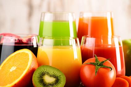 Obst- und Gemüsesäfte für die Saftfasten Kur