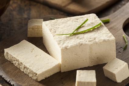 naturbelassener Tofu