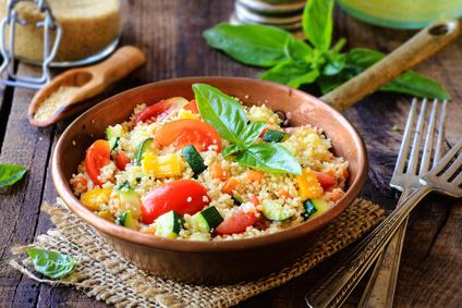 Hirsepfanne mit Gemüse